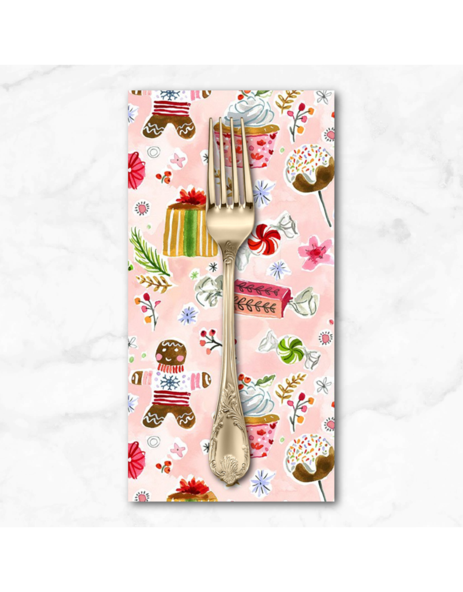 Christmas Collection Love at Frost Sight, Holiday Sweets, Dinner Napkin