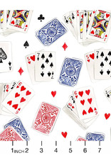 August Wren Game Night, Playing Cards, Fabric Half-Yards