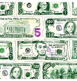 August Wren Game Night, Money, Fabric Half-Yards