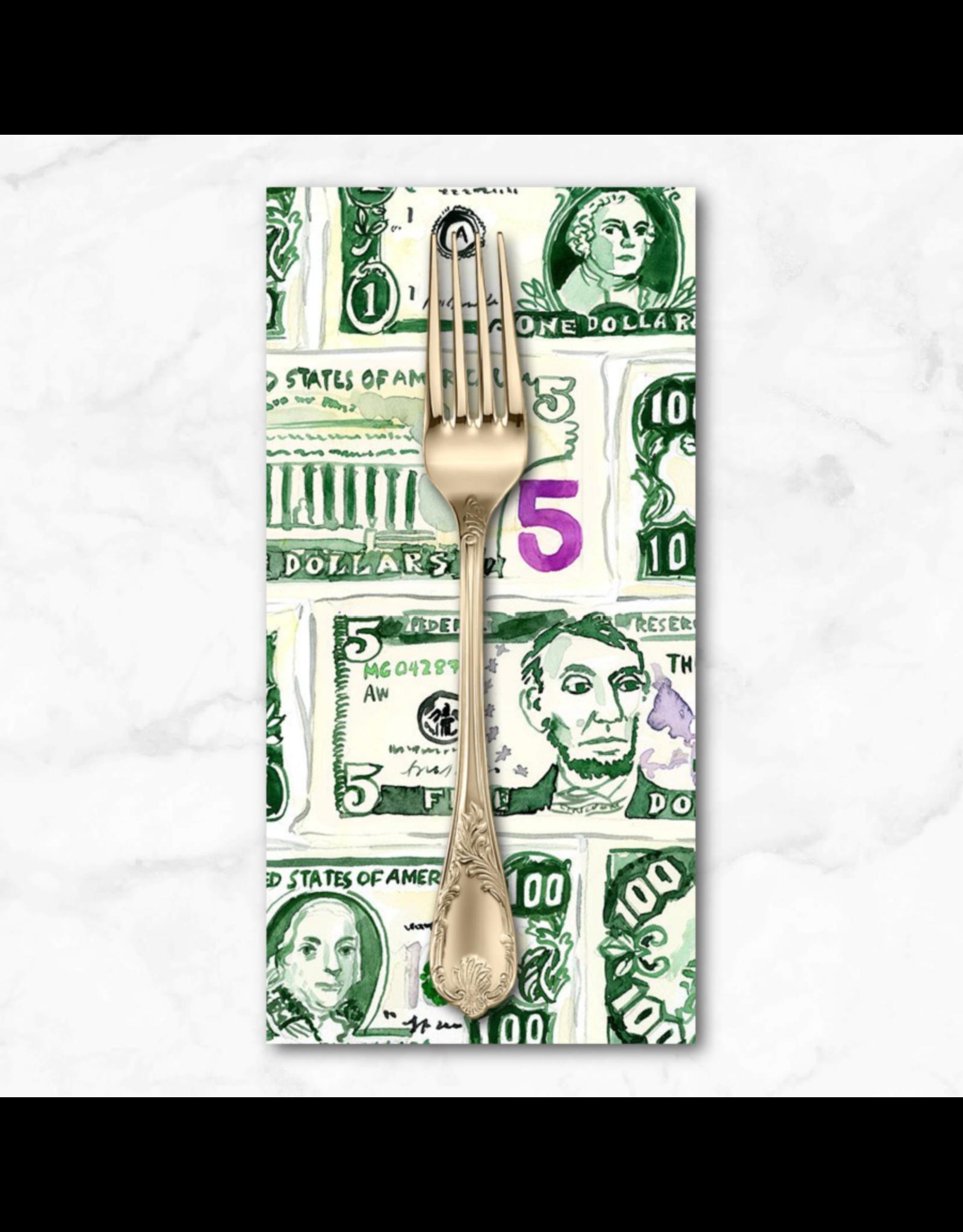 PD's August Wren Collection Game Night, Money, Dinner Napkin