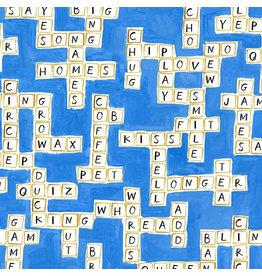August Wren Game Night, Word Play, Fabric Half-Yards
