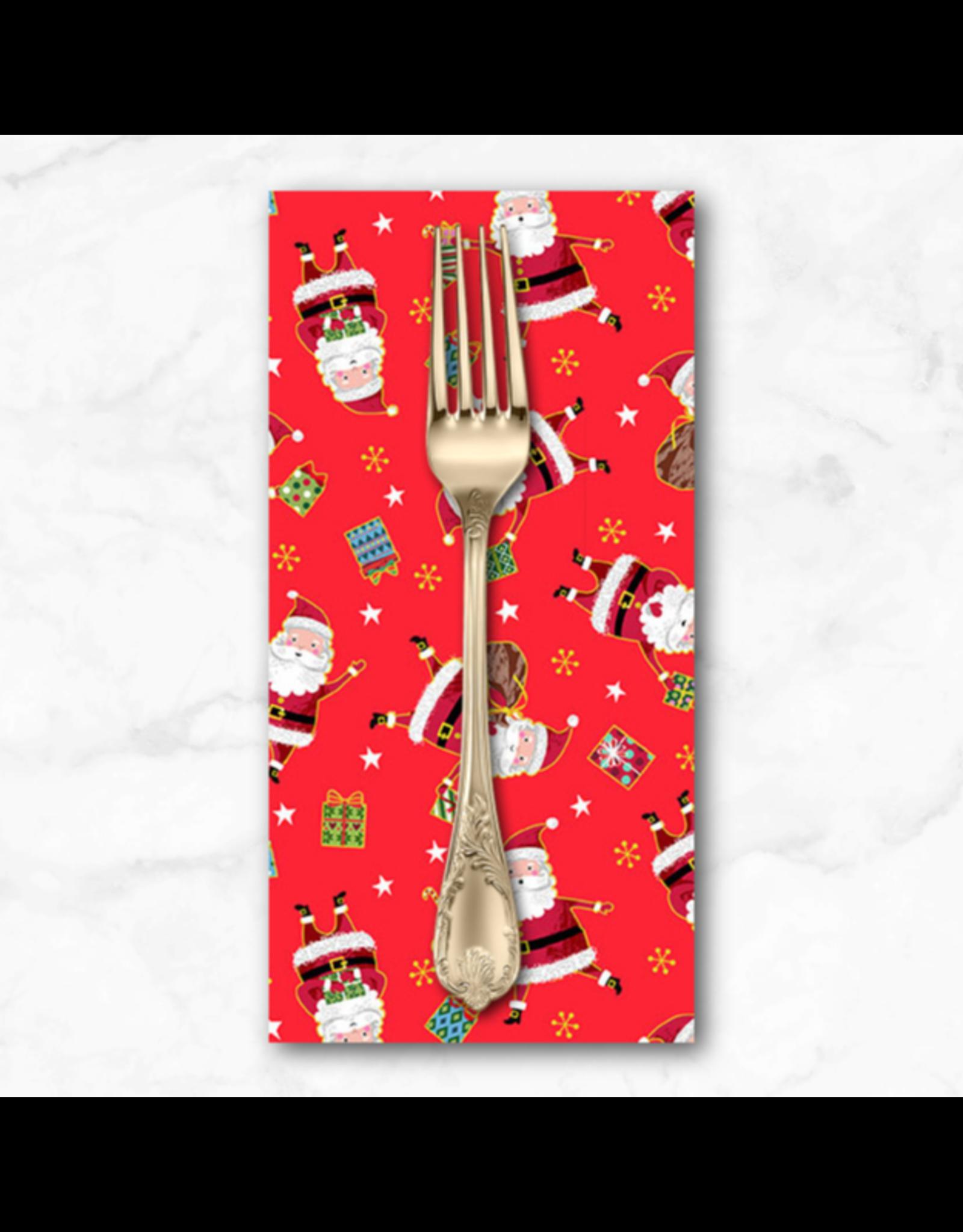 Christmas Collection Santa Express, Santa in Red, Dinner Napkin