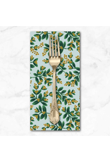 Christmas Collection Holiday Classics, Mistletoe in Mint, Dinner Napkin