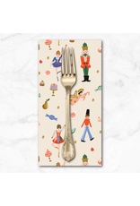 Christmas Collection Holiday Classics, Land of Sweets in Cream, Dinner Napkin