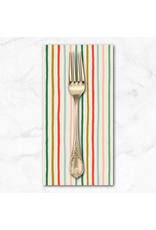 Christmas Collection Holiday Classics, Festive Stripe in Multi, Dinner Napkin