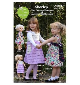 Picking Daisies Charley Dress Pattern for Girls and Dolls