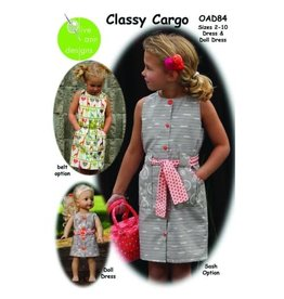 Picking Daisies Classy Cargo Dress Pattern for Girls and Dolls