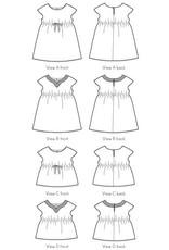 Oliver + S Oliver+S's Roller Skate Dress Pattern - Size 6M - 4T