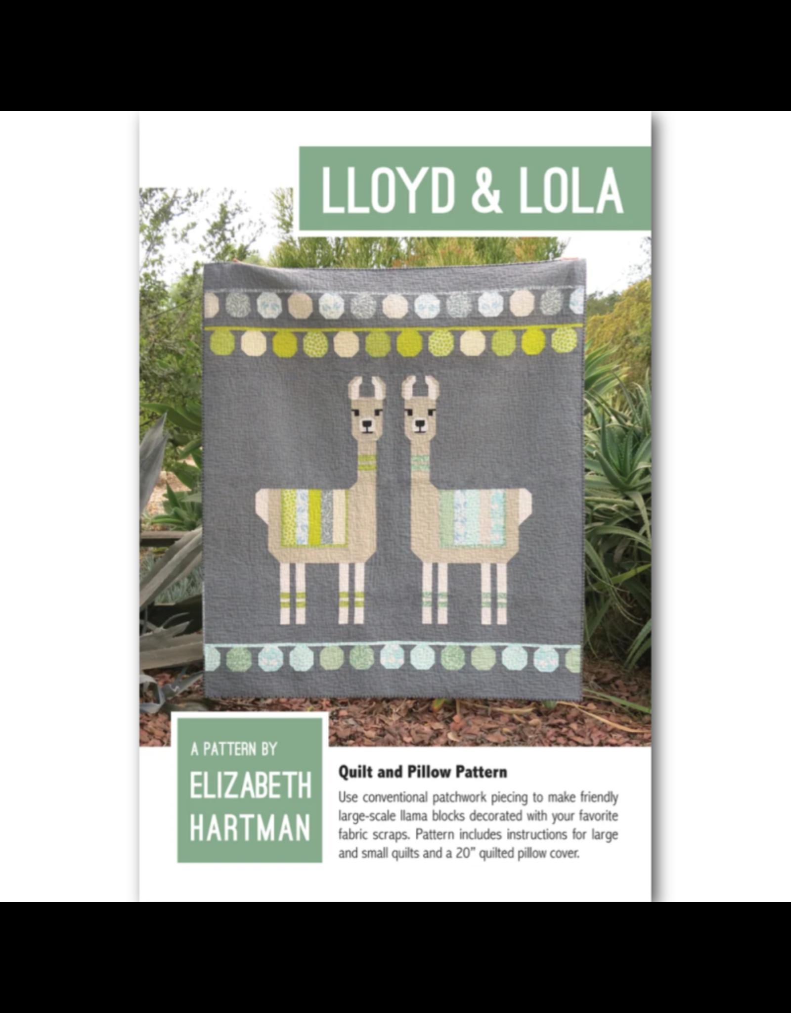 Elizabeth Hartman Lloyd & Lola Quilt and Pillow Pattern