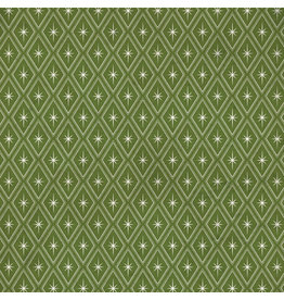 Tim Holtz Christmastime, Sparkle in Green, Fabric Half-Yards