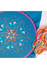 cozyblue Floral Burst Embroidery Kit from cozyblue
