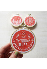 cozyblue COMING MID OCT.-Holiday Ornaments Embroidery Kit from cozyblue