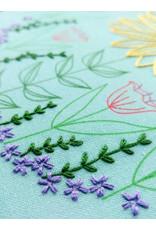 cozyblue Summer Garden Embroidery Kit from cozyblue