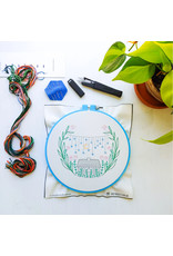 cozyblue Golden Slumbers Embroidery Kit from cozyblue