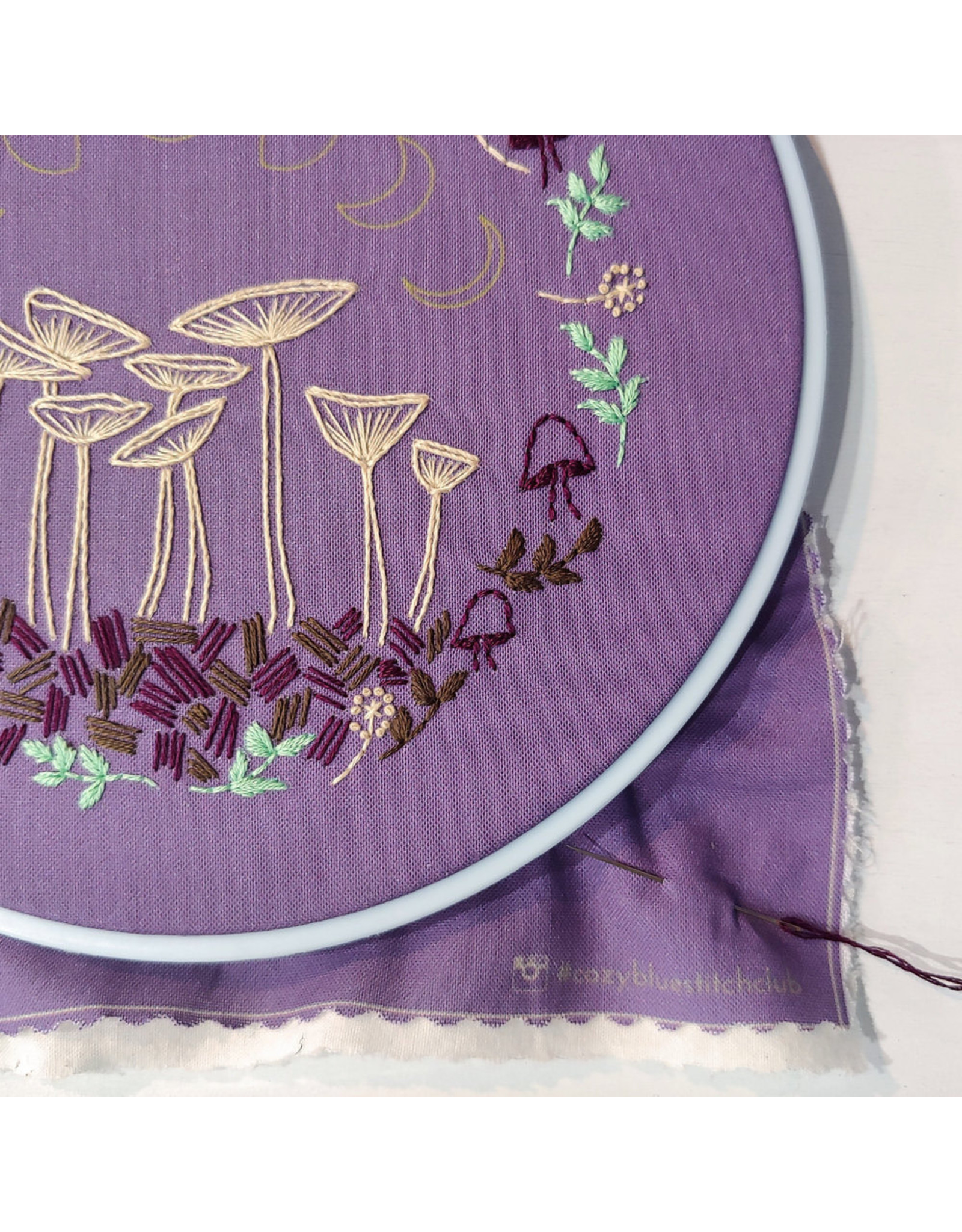 cozyblue Fairy Ring Embroidery Kit from cozyblue
