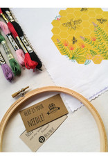 cozyblue COMING MID OCT.-Bee Lovely Embroidery Kit from cozyblue