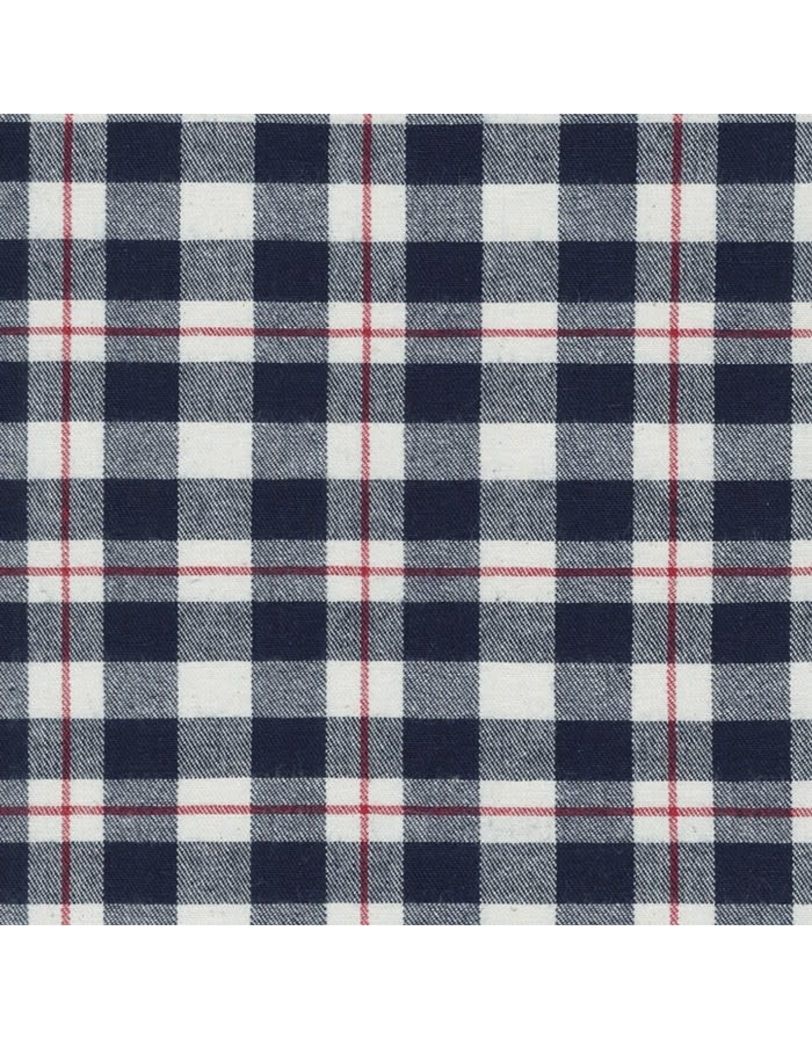 Robert Kaufman Denim Junction Yarn Dyed Washed in Indigo, Fabric Half-Yards