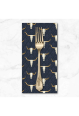 PD's Dear Stella Collection Wanted, Western Skulls in Multi, Dinner Napkin