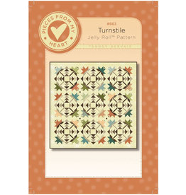 Pieces From My Heart Turnstile Quilt Pattern