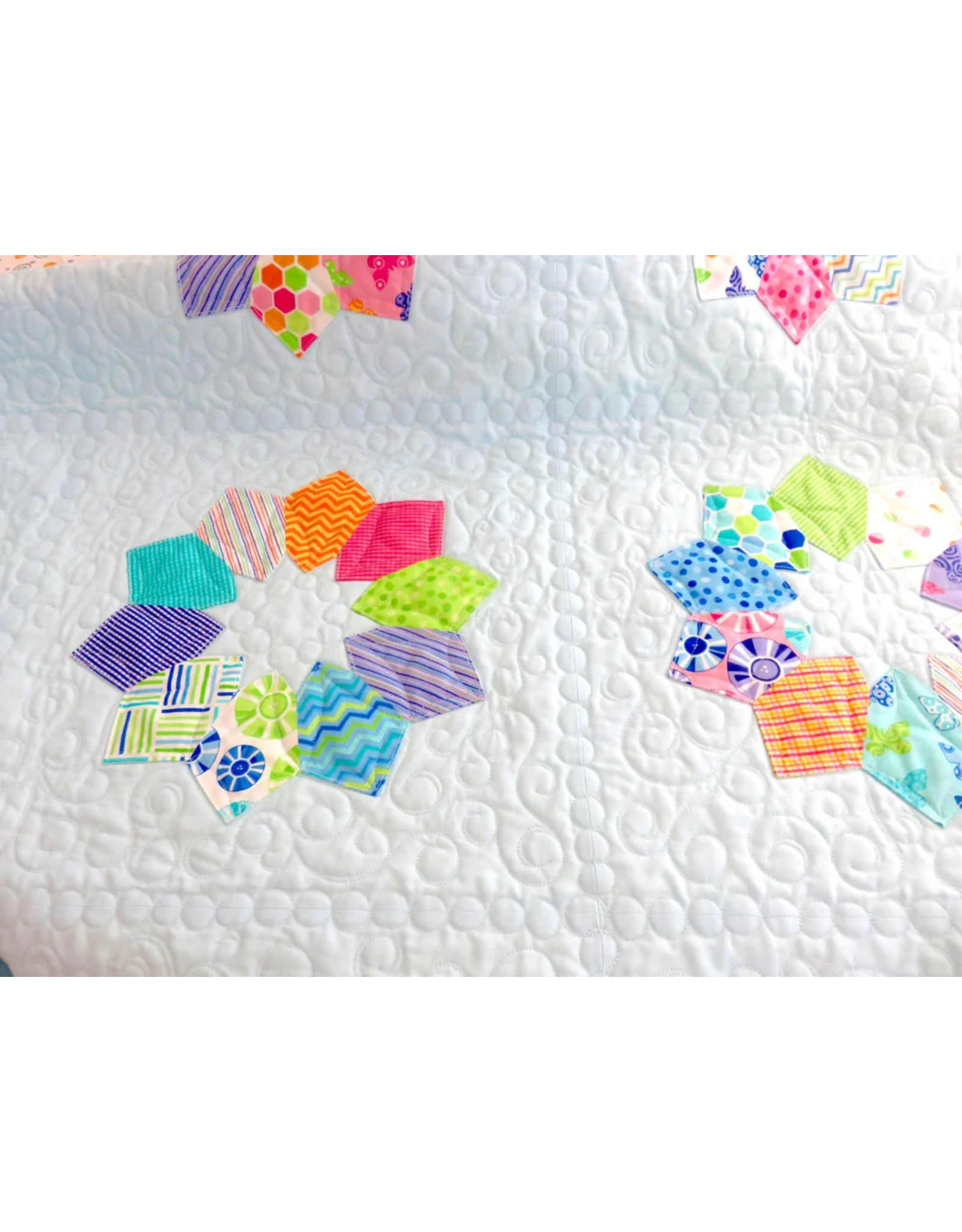 My and My Sister Designs Double Wide Dresden Quilt Pattern