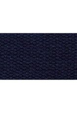 """Checker Navy Cotton Webbing Strapping 1"""" wide, by the yard"""