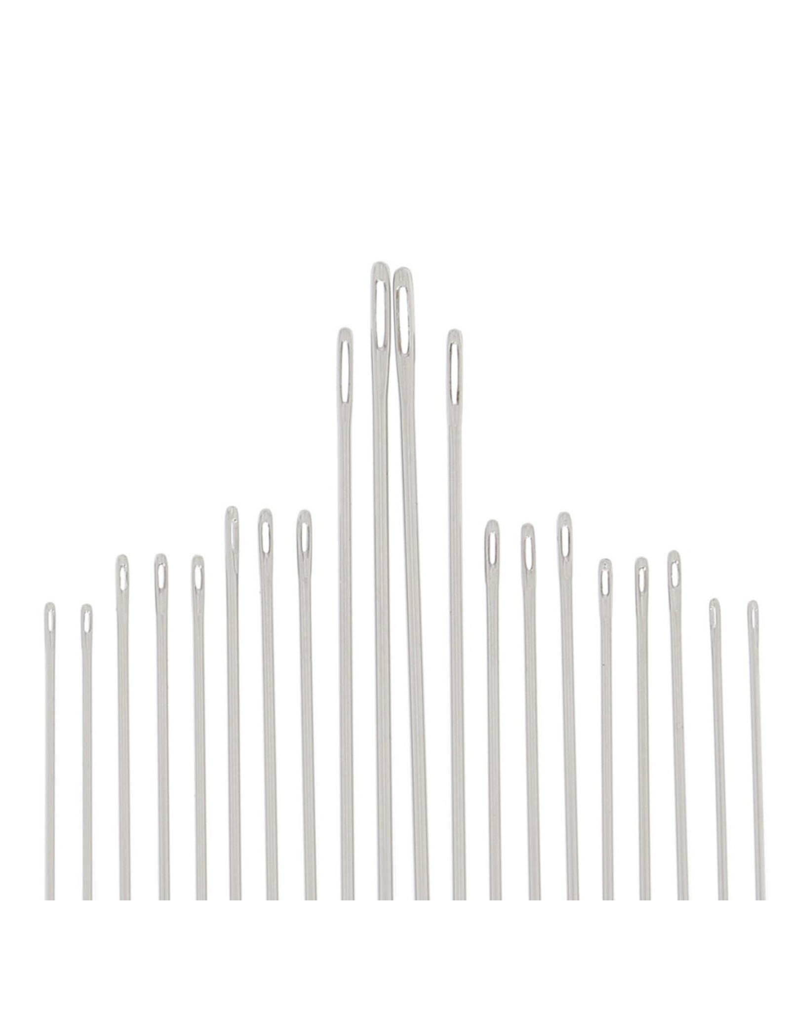 Bohin Sewing and Long Darner Needles, Assorted Sizes -20 ct., Bohin