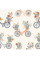 RJR Fabrics Summer in the Cotswolds, Evening Ride in Paradise with Metallic, Fabric Half-Yards