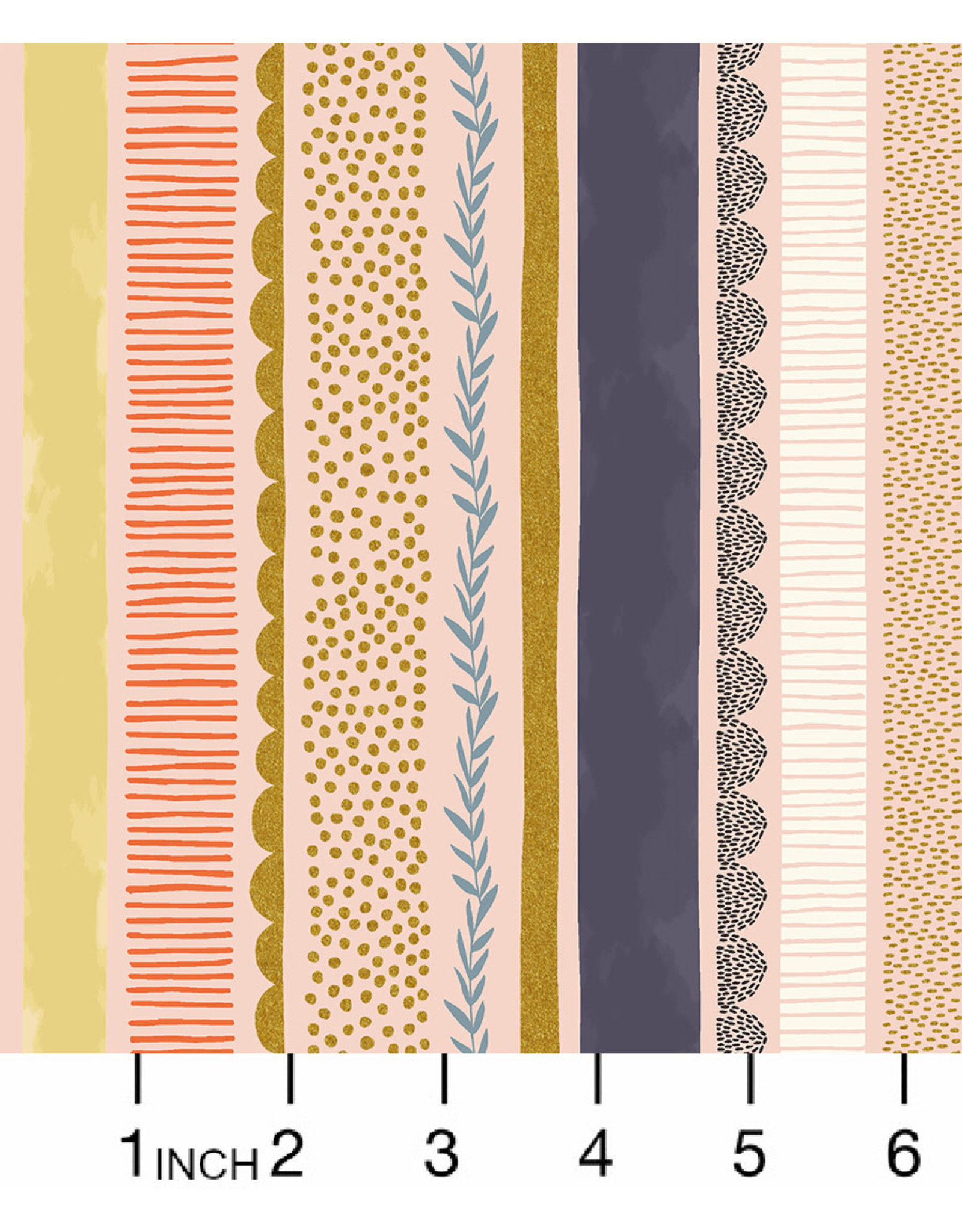 PD's RJR Collection Summer in the Cotswolds, Bumble Bee Stripe in Daybreak, Dinner Napkin