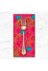 PD's Odile Bailloeul Collection MagiCountry, Aquatic in Pink, Dinner Napkin