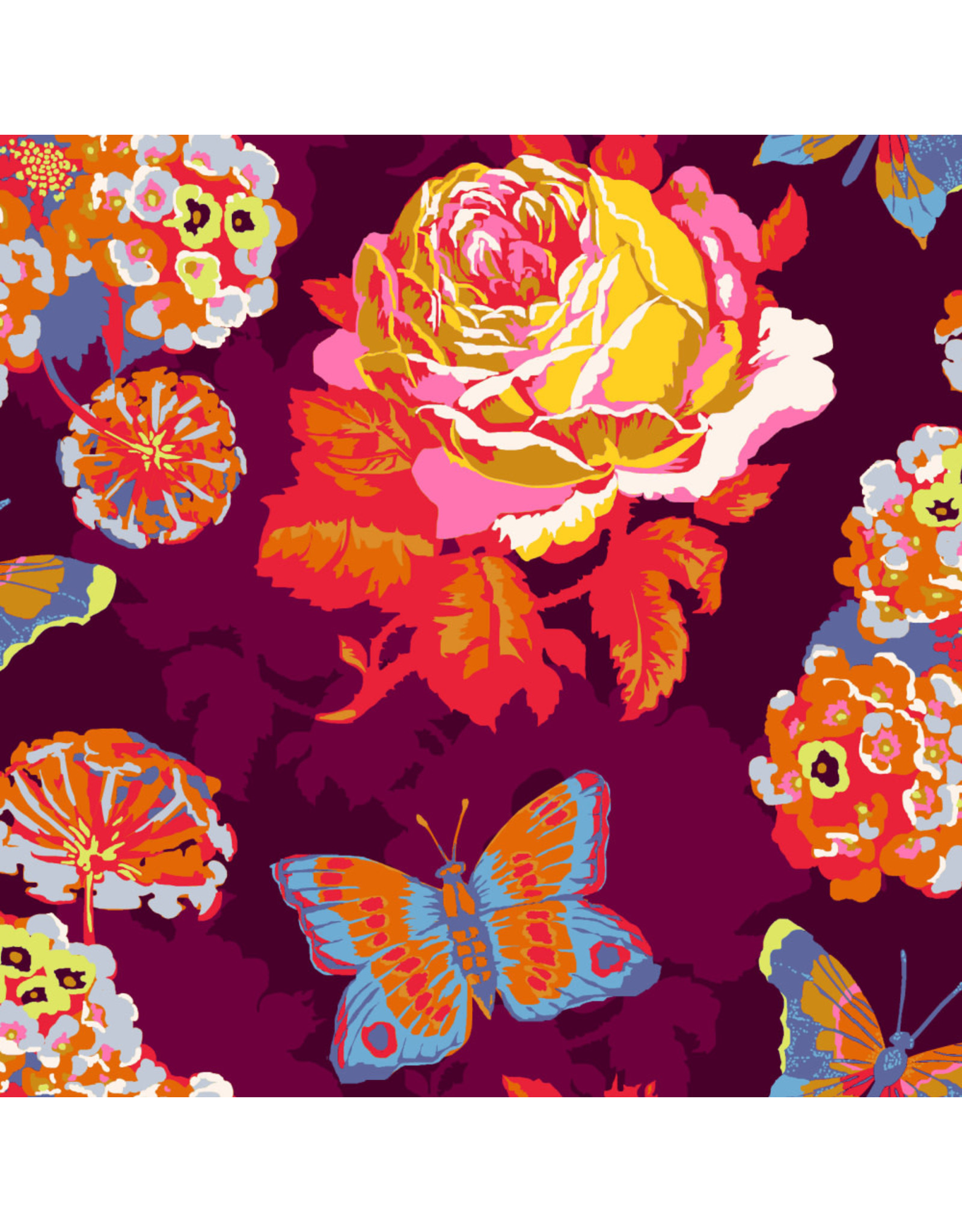 Anna Maria Horner Love Always AM, Clippings in Lush, Fabric Half-Yards
