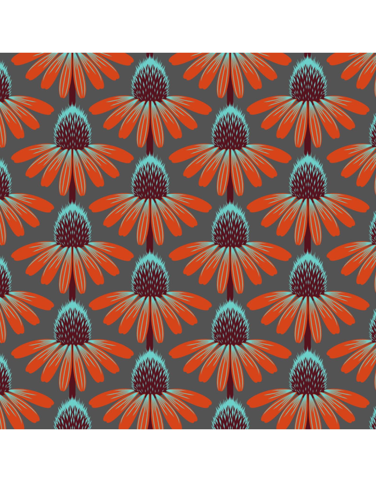 Anna Maria Horner Love Always AM, Echinacea in Berry, Fabric Half-Yards