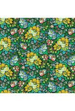 Anna Maria Horner Love Always AM, Overachiever in Forest, Fabric Half-Yards