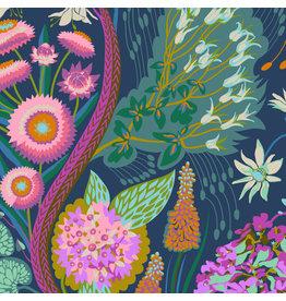 Anna Maria Horner Love Always AM, Source Code in Glisten, Fabric Half-Yards