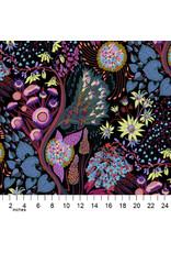 Anna Maria Horner Love Always AM, Source Code in Midnight, Fabric Half-Yards