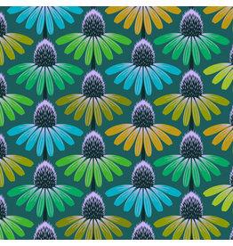 Anna Maria Horner Love Always AM, Echinacea Glow in Algae, Fabric Half-Yards