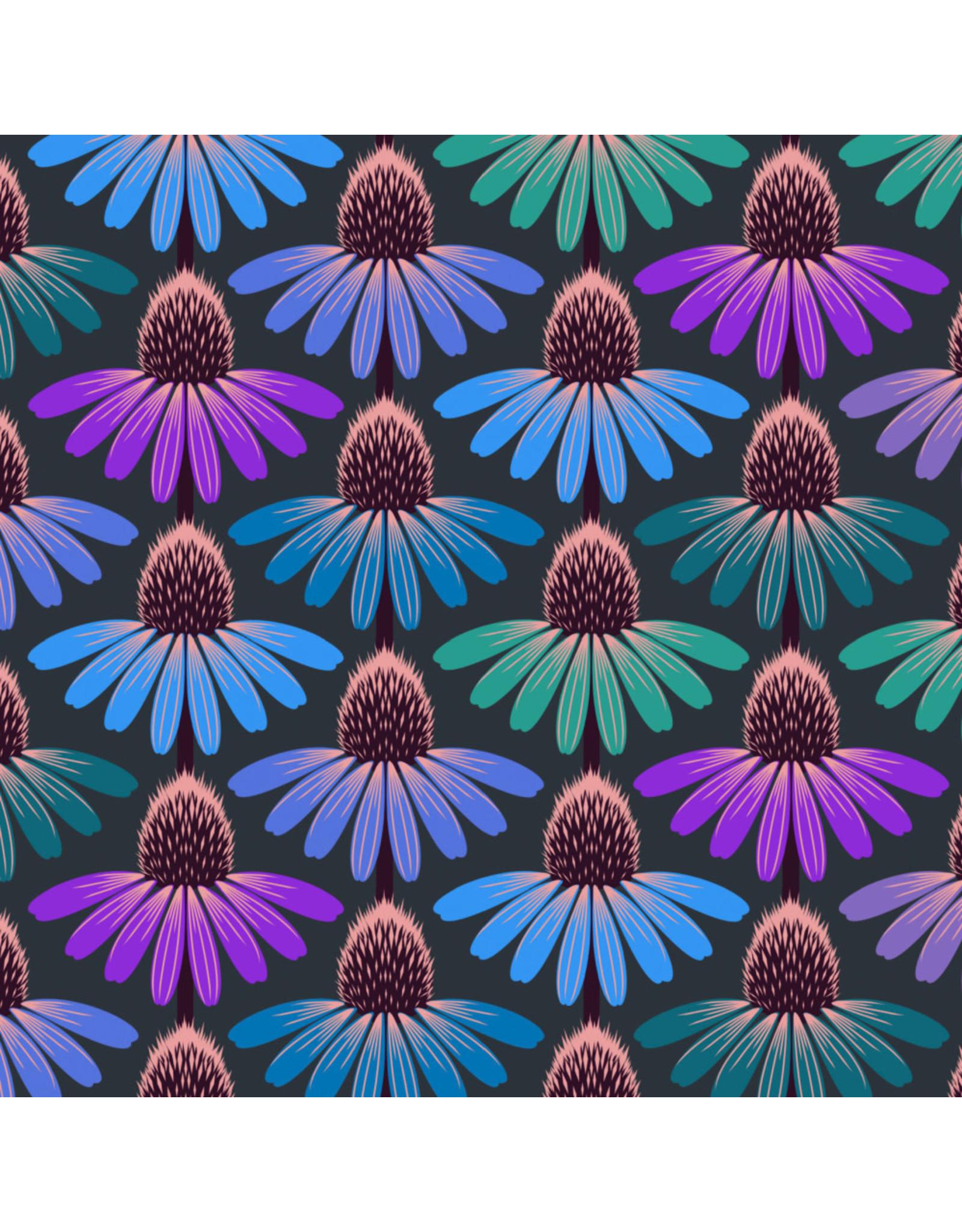 Anna Maria Horner Love Always AM, Echinacea Glow in Amethyst, Fabric Half-Yards