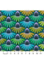 PD's Anna Maria Horner Collection Love Always AM, Echinacea Glow in Algae Dinner Napkin
