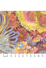 PD'S Free Spirit Collection Stillness in Nature, Sunrise Shimmer in Multi, Dinner Napkin