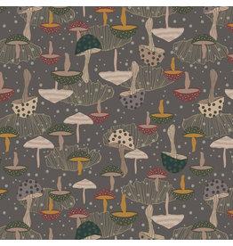 RJR Fabrics Magical Night, Chanterelle in Greyhame, Fabric Half-Yards
