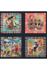 "Moda Lipstick Cowgirl Panel, 24"" x 44"" Fabric Panel"