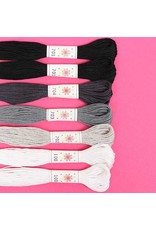 Sublime Stitching Embroidery Floss Set, Cosmos Palette - Seven 8.75 yard skeins