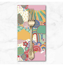 PD's Liberty of London Collection Liberty The Carnaby Collection, Sunny Afternoon in Bohemian Brights, Dinner Napkin