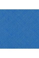 Carolyn Friedlander Architextures, Crosshatch in Blueprint, Fabric Half-Yards