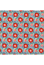 Liberty Fabrics Liberty The Carnaby Collection, Carnation in Bohemian Brights, Fabric Half-Yards