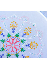 cozyblue Rainbow Mandala Embroidery Kit from cozyblue