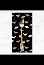 PD's Figo Collection Wild West, Chickens in Black, Dinner Napkin