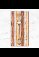 PD's Figo Collection Wild West, Stripes in Multi, Dinner Napkin