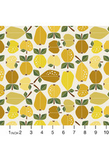 PD's Cotton + Steel Collection Under the Apple Tree, Orchard in Golden, Dinner Napkin