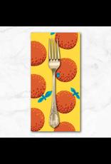 PD's Kaffe Fassett Collection Kaffe Collective 2021, Oranges in Citrus, Dinner Napkin