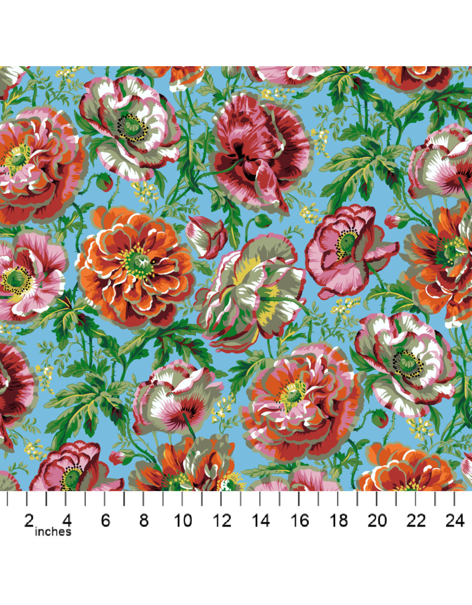 Philip Jacobs Kaffe Collective 2021, Dorothy in Natural, Fabric Half-Yards